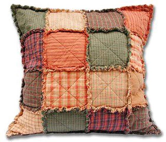 Лохматая подушка