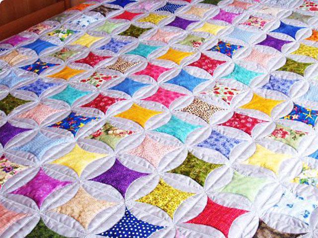 Разноцветное одеяло