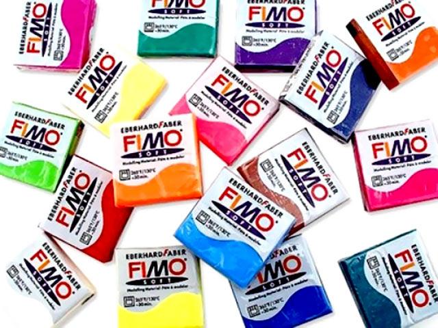 Самим великим діапазоном кольорів відрізняється пластик Фімо