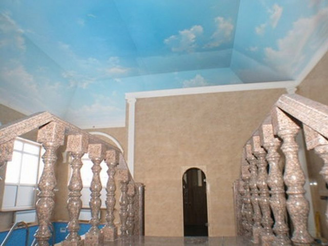 Пример потолка в квартире