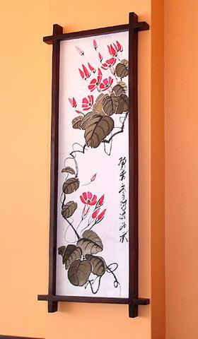 Японские панно на стену своими руками