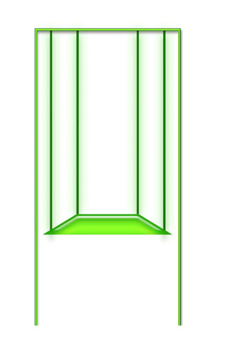 Схема качелей по типу буквы «П»