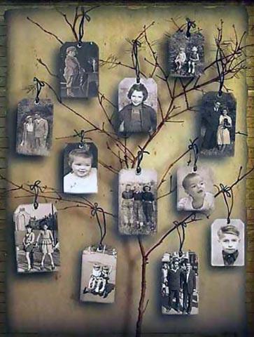 Дерево из ветки