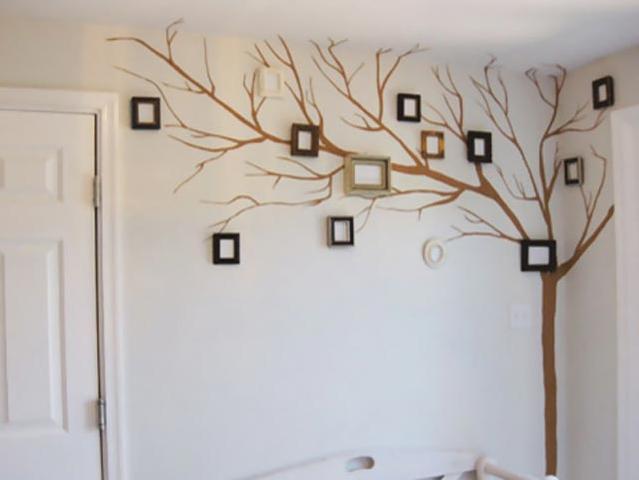 Пример древо-наклейки