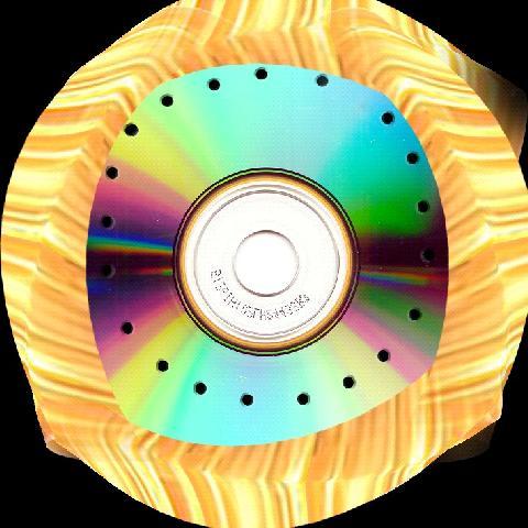 Так фиксируем ткань на диске