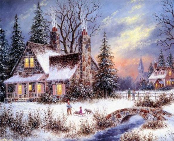 Зимой свет всегда кажется теплым
