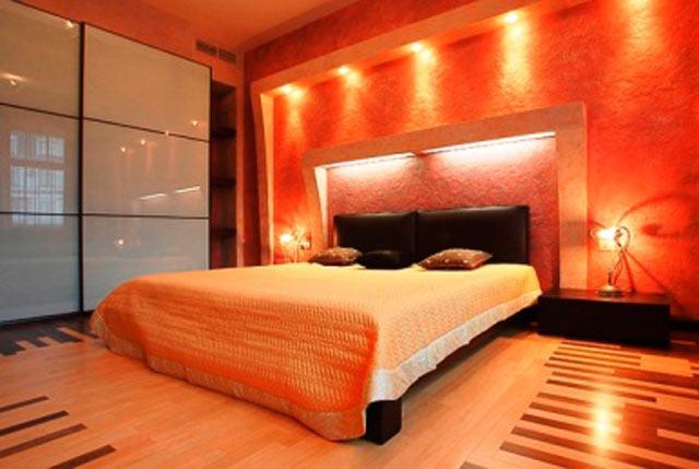 Возможный вариант для спальни