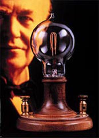 Эдиссон и его лампочка