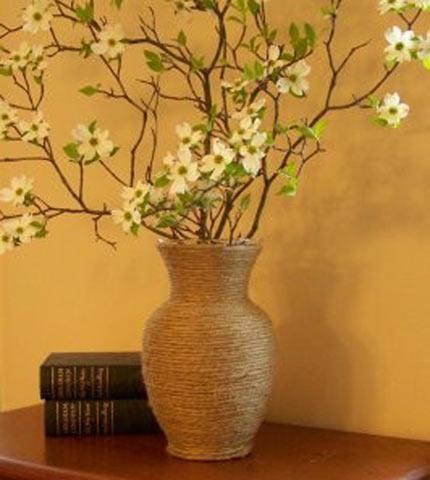 Как сделать декоративные вазы своими руками