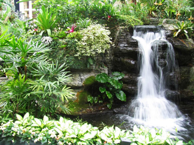 Водоcпад для саду