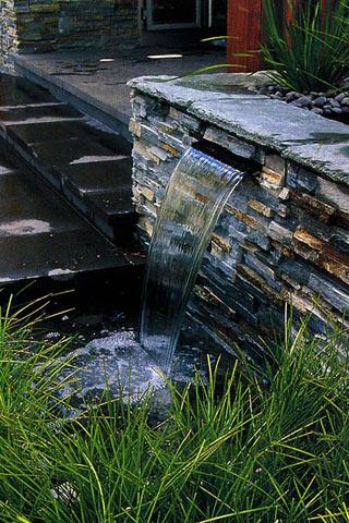 Водоспад у стилі «хай-тек»