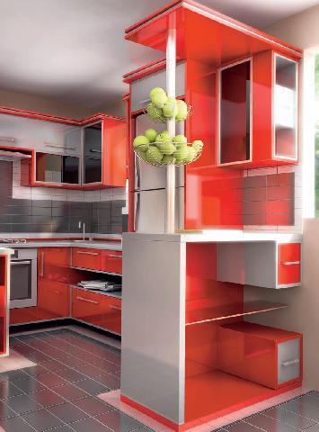 Пример дизайна маленькой кухни