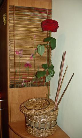 Панно из псевдобамбука