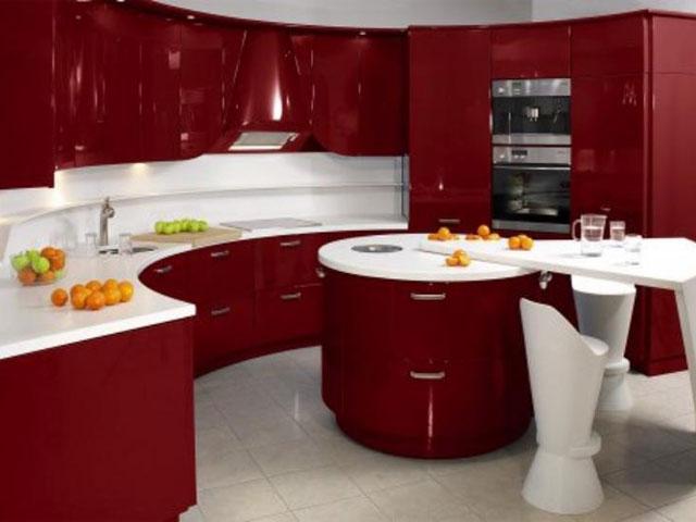 G образная кухня