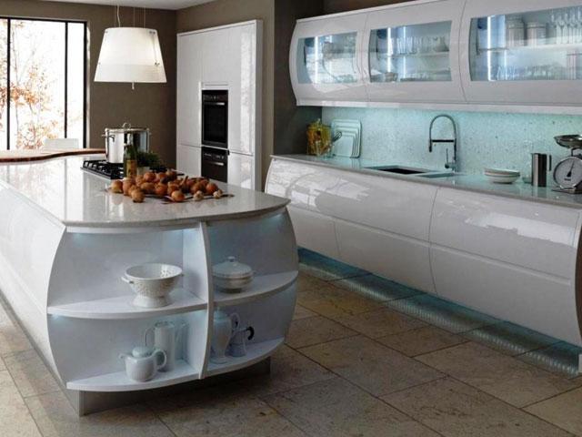 Кухня островная