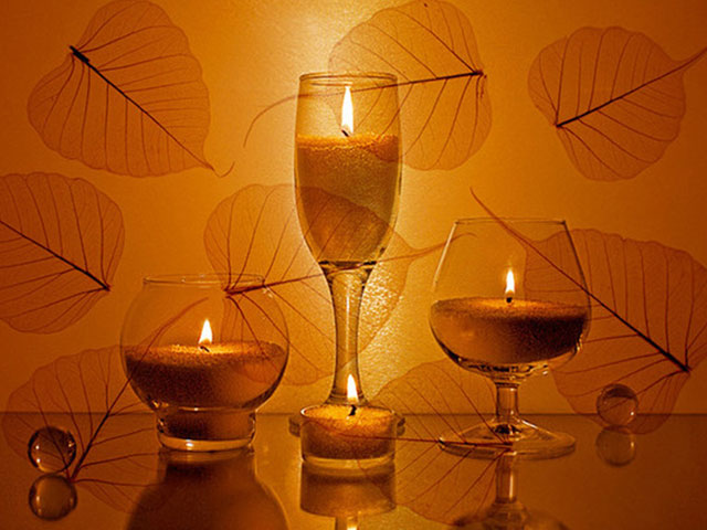 Свет свечи замедляет время, помогает заглянуть внутрь себя