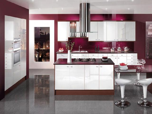 Пример дизайна современной кухни