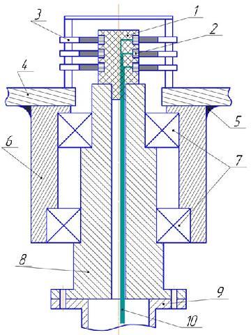 Поворотный узел и токоприёмник
