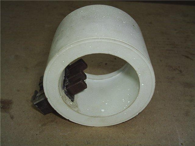 Мідно-графітові щітки для струмоприймача
