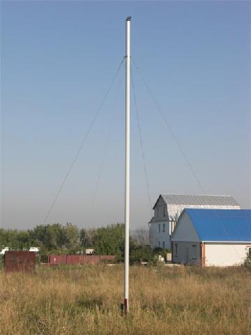 Мачта для ветрогенератора из стальной трубы
