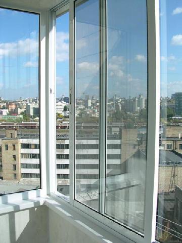 Алюмінієві вікна для балкона