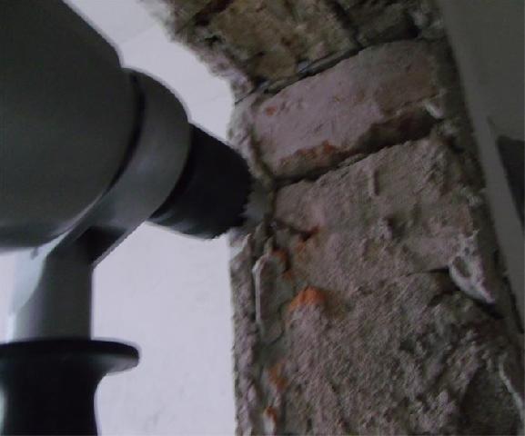 Сверление кирпичной стены