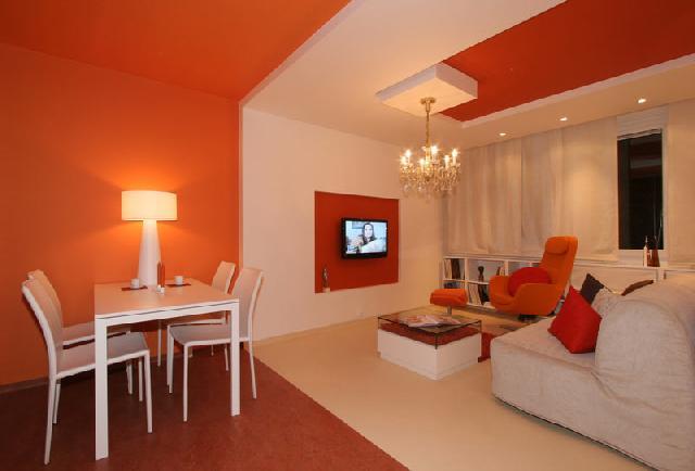 Натуральный линолеум в интерьере квартиры