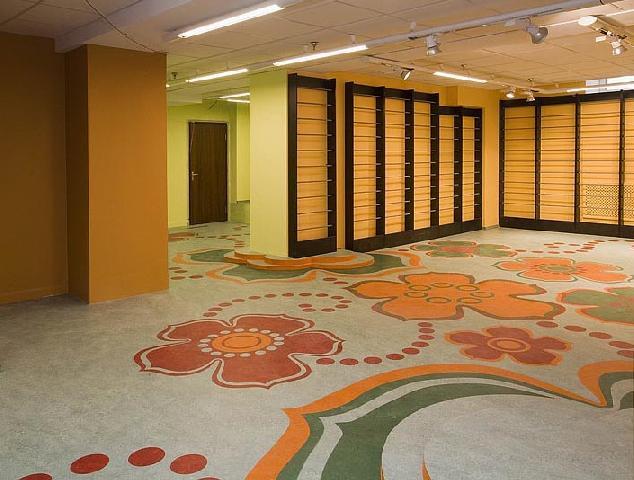 Напольное покрытие из натурального линолеума поможет создать идеальный интерьер помещения