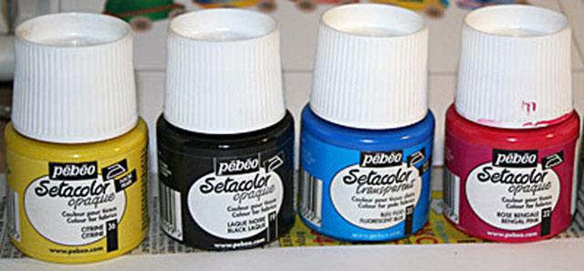 Акриловые краски. Базовые цвета