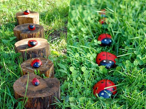 Фигурки для сада своими руками | iBud.