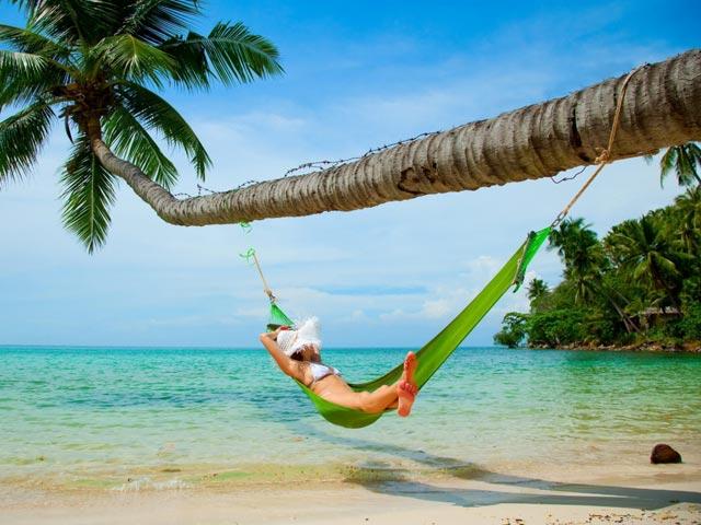 Райское наслаждение — это не «Баунти», а возможность покачаться в гамаке