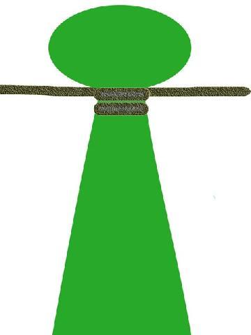 Завязывание узла на конце