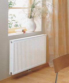 Панельные стальные радиаторы системы отопления