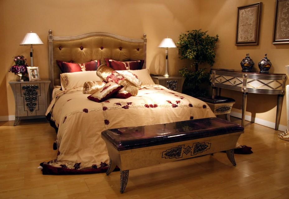 Дизайн интерьера спальни в стиле бидермейер