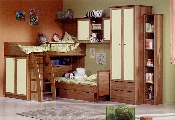 Наша компания изготавливает детскую мебель из ДСП.  При подборе стройматериалов мы придерживаемся следующих принципов.