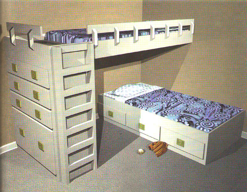 Детям очень нравятся двухъярусные b кровати/b.  Они должны понравиться и вам, особенно если.