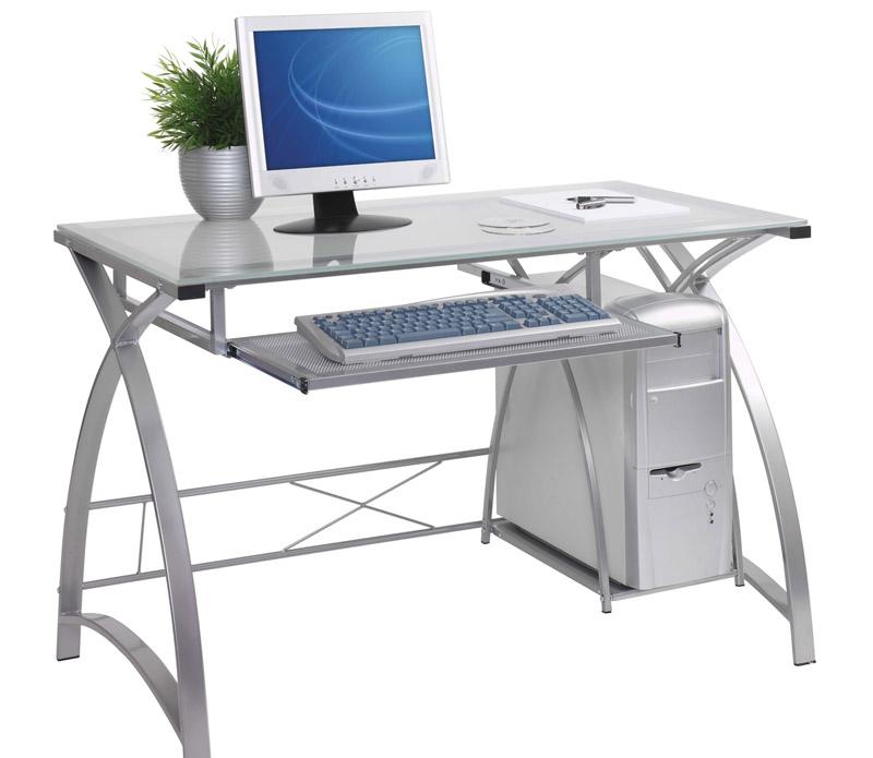 Стеклянные компьютерные столы элитные