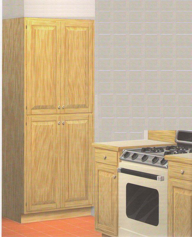Пенал для кухни сделать своими руками