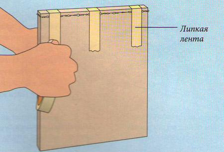Дерев'яна накладка для обробки кромки фанери