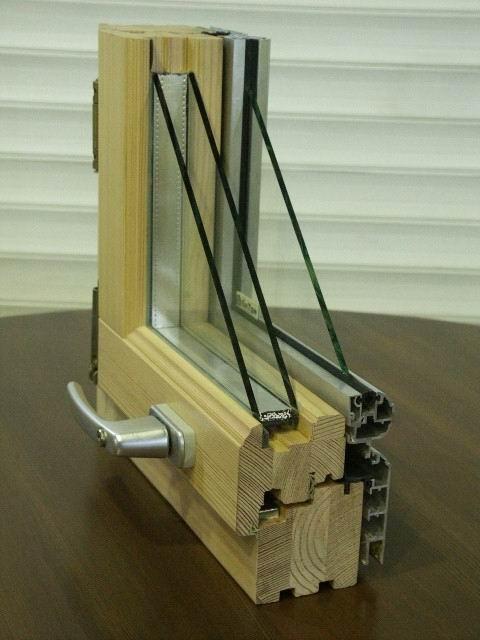 Деревянные окна - Стеклопакет