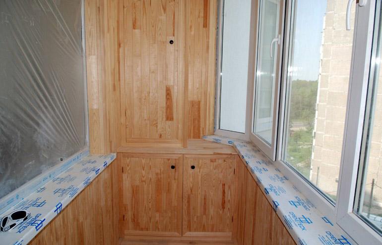 Ремонт балкона ibud.ua.
