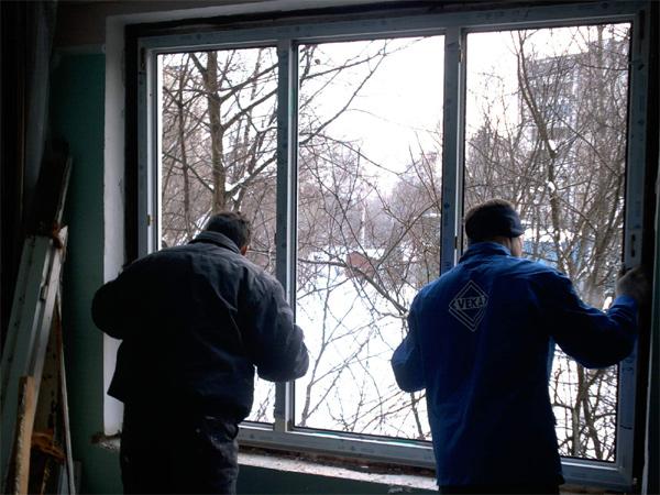 Монтаж пластикового вікна