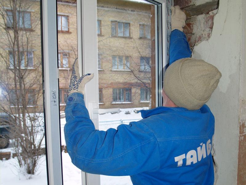 Установка пластиковых окон - этапы установки ibud.ua.