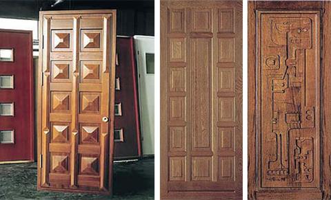 Резные двери - Мебель из массива