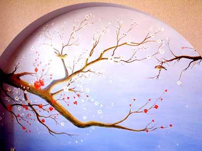 Картинки по запросу живопись арки садовые окна