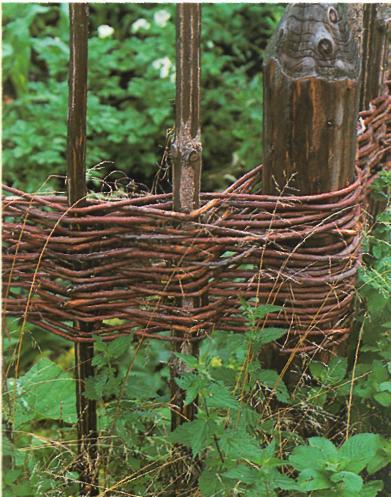Ландшафт участка, ограда