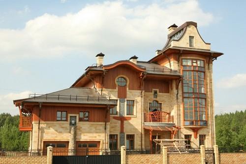 Пример дома капитального каменного дома