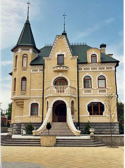 Пример многоэтажного капитального дома