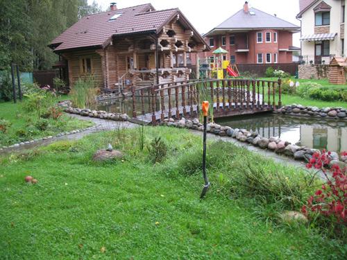 Мостовые покрытия в саду