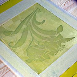 Матування скла пастою – залишаємо пасту на склі на 15 хв